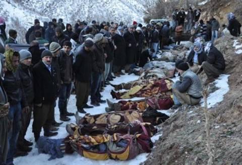 Αντιδράσεις για τους νεκρούς Κούρδους στην Τουρκία