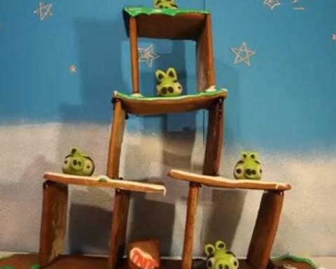 Τα πιο... γλυκά Angry Birds!