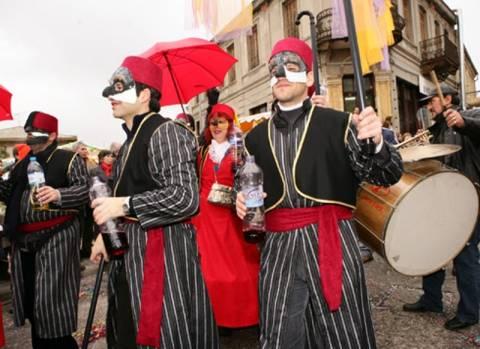 Πρωτοχρονιάτικο καρναβάλι στην Καστοριά