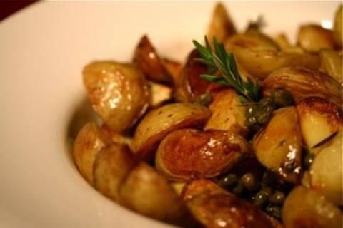 Ζουμερές μελωμένες πατάτες