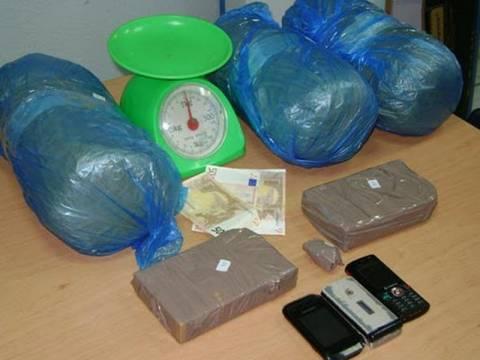 Συνελήφθη Αλβανός διακινητής  ναρκωτικών