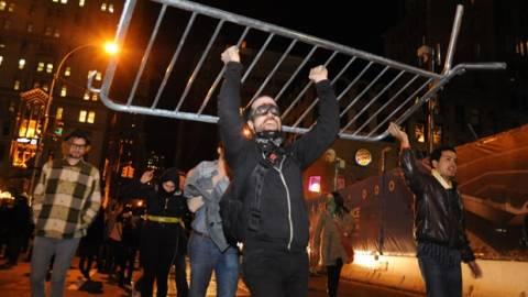 Επεισόδια και συλλήψεις διαδηλωτών στη Νέα Υόρκη