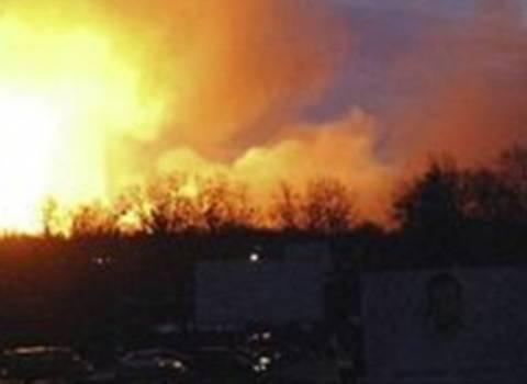 Έκρηξη  σκόρπισε το θάνατο σε αποθήκη πυρομαχικών