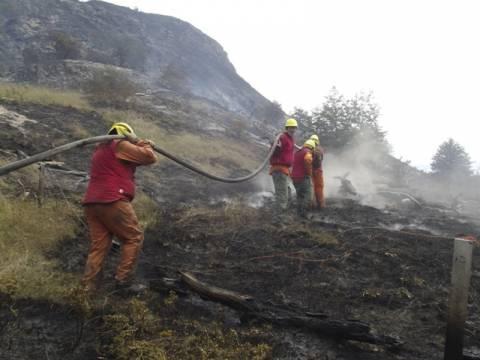 Εκτεταμένη πυρκαγιά πλήττει τη Χιλή