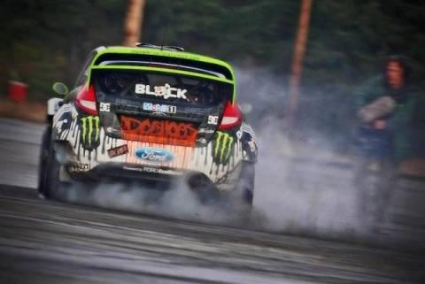 WRC: Ο Κεν Μπλοκ στο Τουίν Πικς
