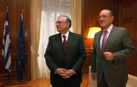 Πλήρης στήριξη Δασκαλόπουλου στην κυβέρνηση Παπαδήμου