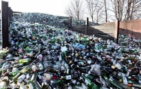 Τα μπουκάλια των μπεκρήδων Βρετανών