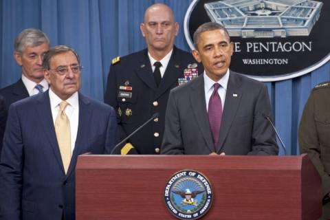 Τη νέα αμυντική στρατηγική των ΗΠΑ παρουσίασε ο Ομπάμα