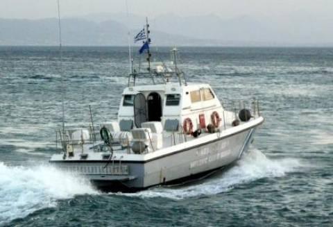 Ακυβέρνητο πλοίο στην Κύθνο