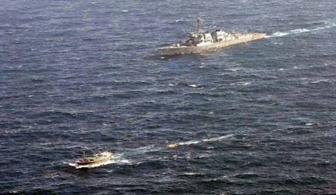 Διάσωση 13 Ιρανών από Αμερικάνικο πολεμικό πλοίο
