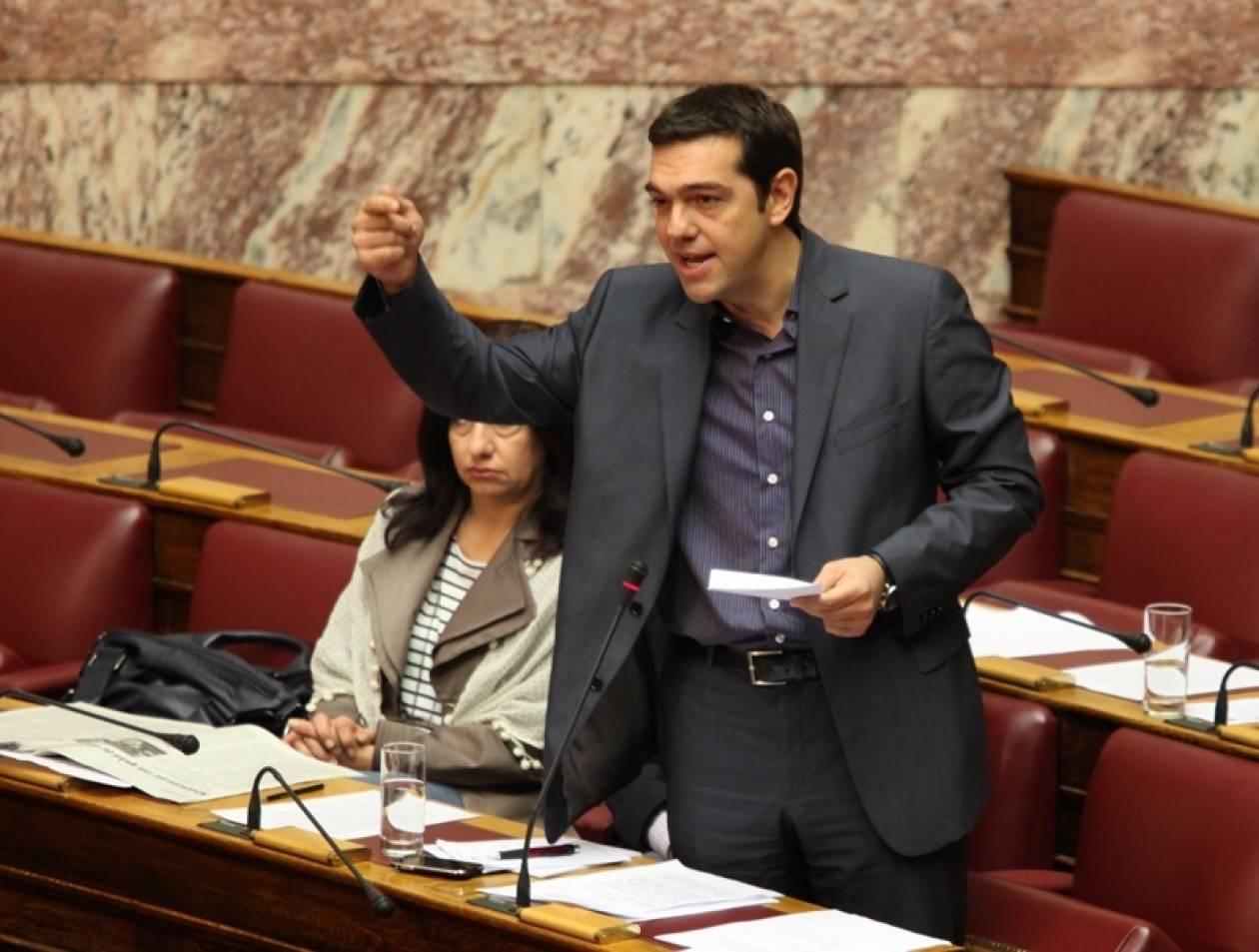 Συζήτηση στη Βουλή για τις εξελίξεις ζητά ο Τσίπρας