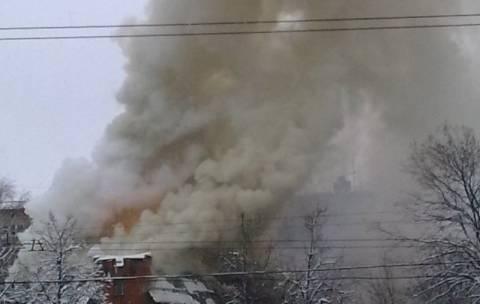 Έκρηξη σε εστιατόριο της Μόσχας