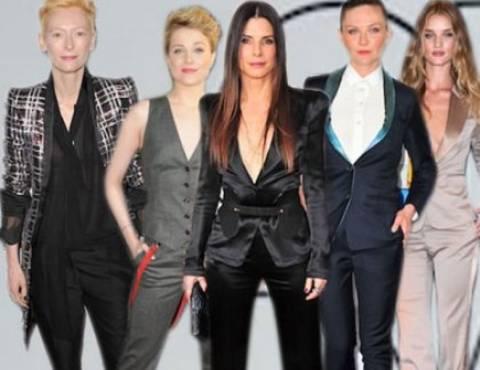 Διάσημες γυναίκες που ντύνονται σαν αγόρια