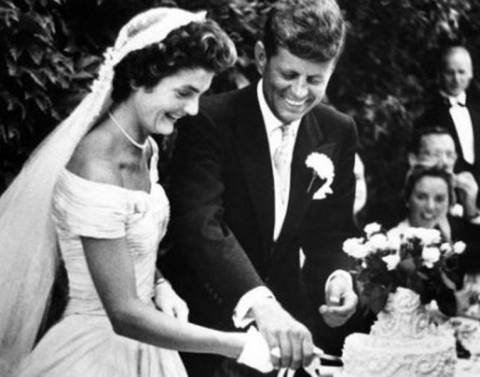 Γάμοι που πέρασαν στην ιστορία: Τζάκι Μπουβιέ & Τζον Κένεντι