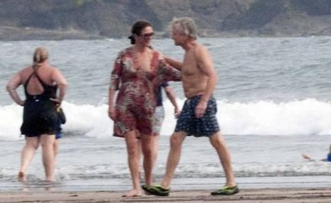 Μάικλ Ντάγκλας-Ζέτα Τζόουνς διακοπές στον Παναμά
