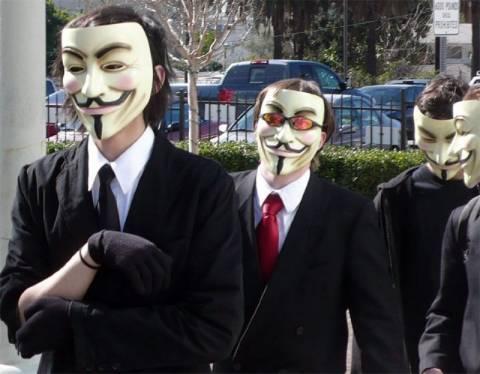 Οι Anonymous «χτύπησαν» στην Ιταλία!