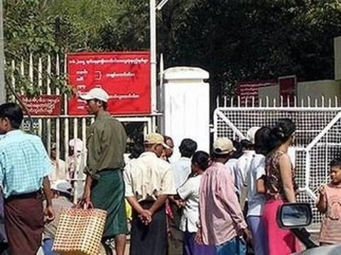 Απελευθέρωση πολιτικών κρατουμένων από το καθεστώς της Μιανμάρ