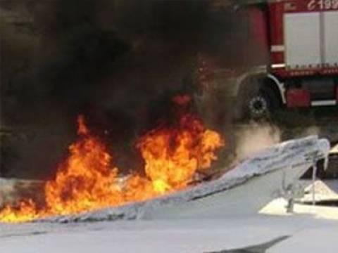 Πυρκαγιά σε σκάφη αναψυχής