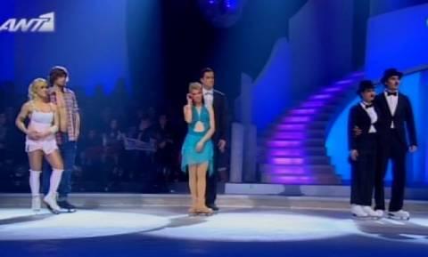Πηλιχού και Αναστασοπούλου στον τελικό του «Dancing on ice»
