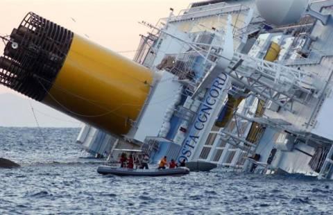 Στους έξι οι νεκροί από το ναυάγιο του Costa Concordia