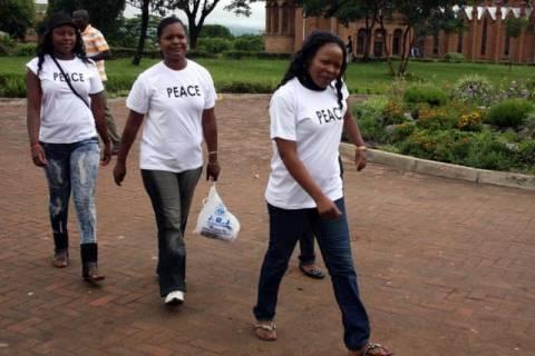 Διαδήλωση γυναικών για το «δικαίωμα» στο παντελόνι