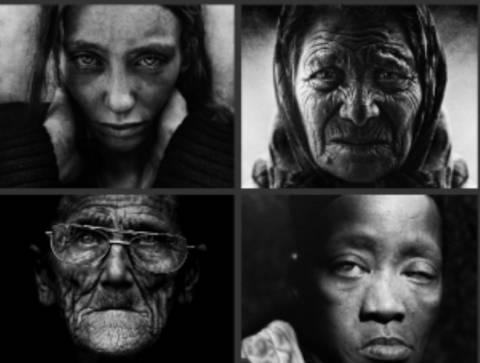 Η μοναξιά απoτυπωμένη σε εκπληκτικά πορτραίτα αστέγων