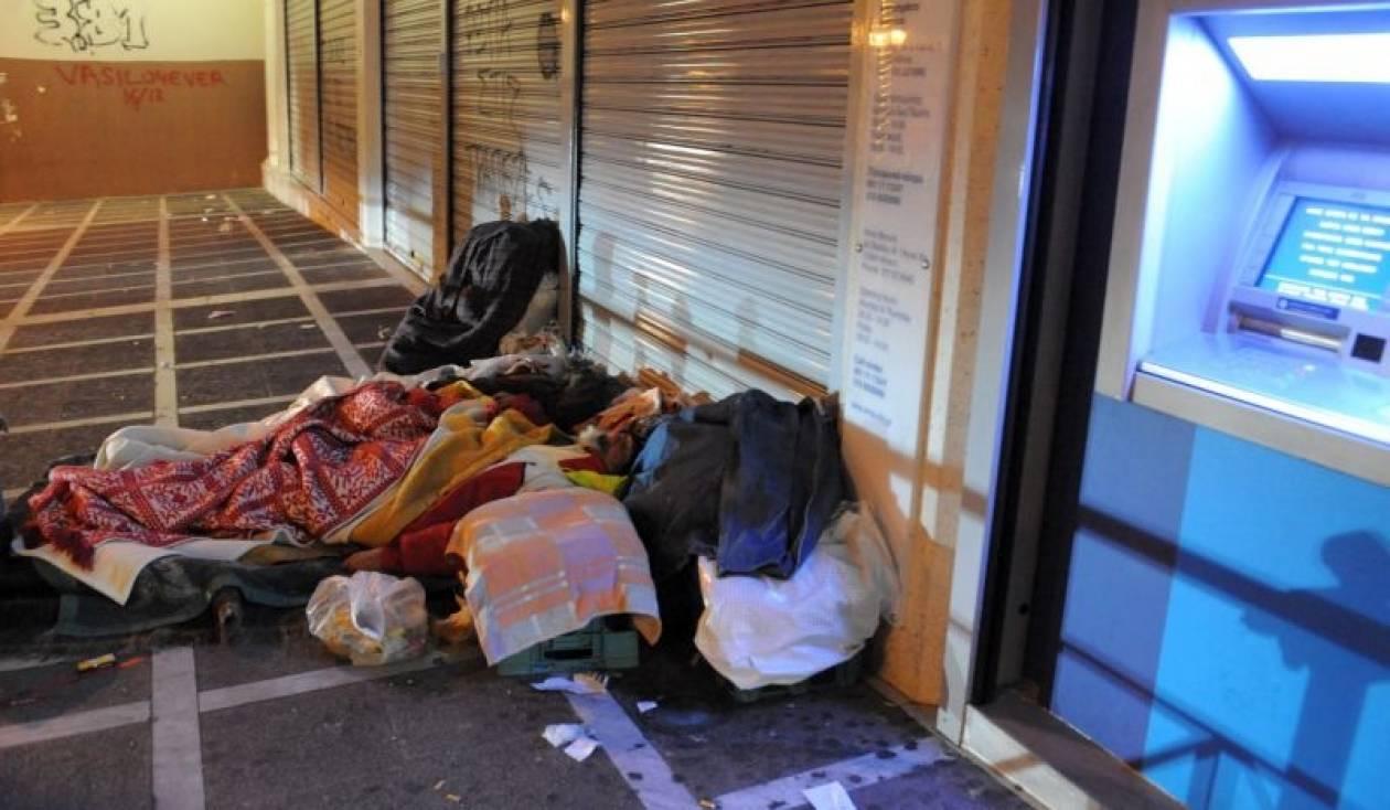 Σοκάρουν τα στοιχεία για τους «νεοάστεγους» των Αθηνών