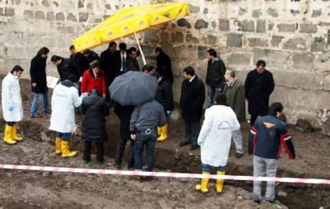 Ομαδικός τάφος στο Ντιγιάρμπακιρ της Τουρκίας