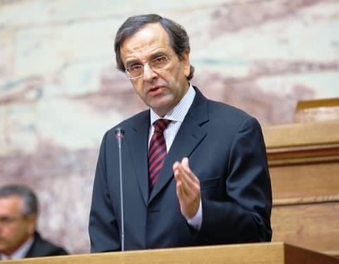 Α. Σαμαράς: Η έξοδος  της Ελλάδος από την Ευρωζώνη δεν αποτελεί λύση
