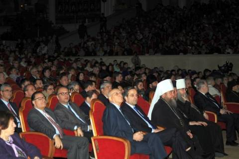 Α. Σαμαράς: «Η πολιτική διαιρεί, η θρησκεία ενώνει»