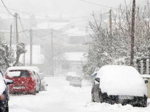 Πολικές θερμοκρασίες και χιόνια το Σαββατοκύριακο