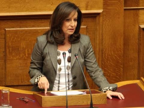 Ά. Διαμαντοπούλου: Δεν σχολιάζω τις ανοησίες του Νίκου Παπανδρέου