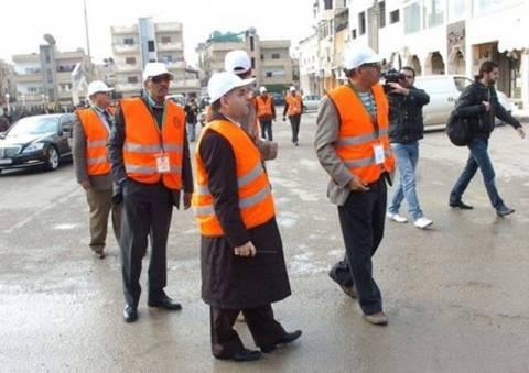 Αναστέλλεται η αποστολή των παρατηρητών στη Συρία