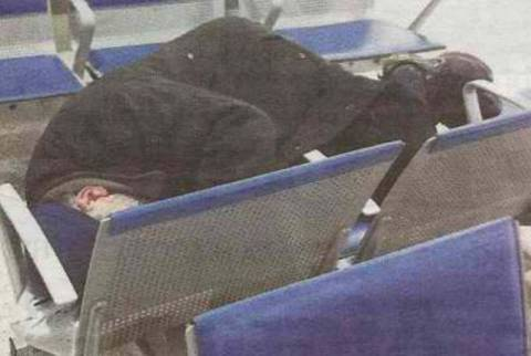 Οι άστεγοι βρήκαν καταφύγιο στο Ελ. Βενιζέλος