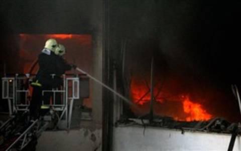 Πυρκαγιά σε δωμάτιο ξενοδοχείου στο κέντρο της Αθήνας