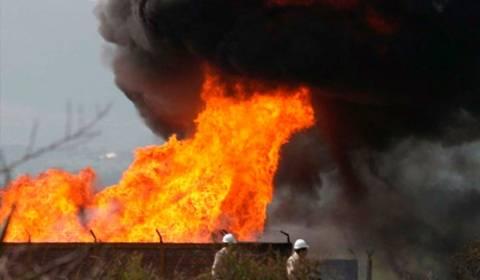Αίγυπτος: Έκρηξη στον αγωγό μεταφοράς φυσικού αερίου