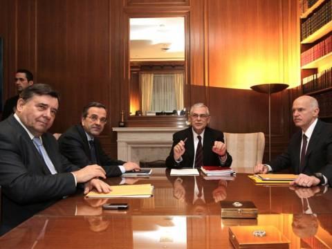Το απόγευμα η νέα σύσκεψη των πολιτικών αρχηγών