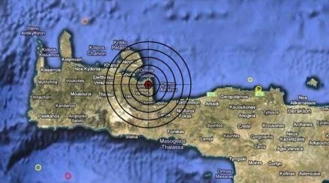 Σεισμός 3,4 Ρίχτερ στον Αποκόρωνα Χανίων