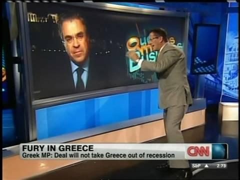 Ντινόπουλος: Τα «έχωσε» σε Μερκοζί μέσω CNN