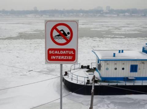 Πάγωσε ο Δούναβης