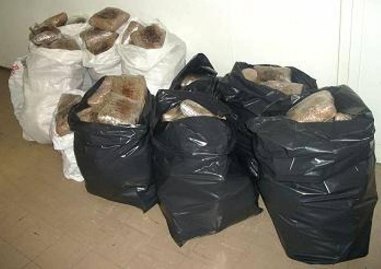 Τους έπιασαν «φορτωμένους» με 219 κιλά