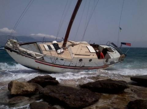 Προσάραξε τουριστικό σκάφος στο Ρίο