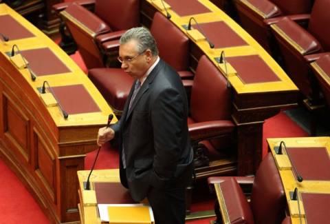Δεν παραδίδει τη βουλευτική του έδρα ο Κ. Μαρκόπουλος