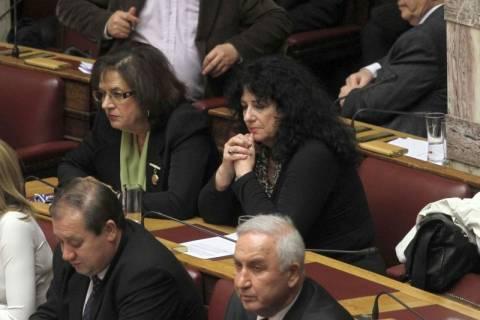 Α. Βαγενά: Αποδέχτηκα την έδρα για να καταψηφίσω το μνημόνιο