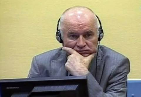 Στις 14 Μαΐου ξεκινά η δίκη του Ράτκο Μλάντιτς