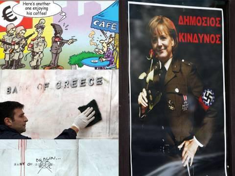 Οι Έλληνες, τα ναζιστικά σύμβολα και η οργή για την Γερμανία