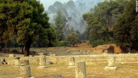 Πρώτη είδηση στα διεθνή μέσα η ληστεία στην αρχαία Ολυμπία