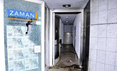 Ο Νταβούτογλου καταδικάζει τις επιθέσεις στη «Ζαμάν»