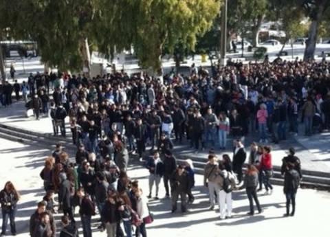 Μαθητικό συλλαλητήριο στο Σύνταγμα