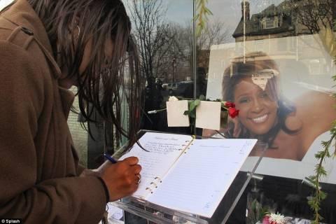 Όλα όσα έγιναν στην κηδεία της Whitney